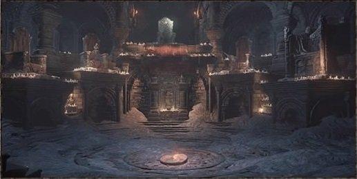 篝火「火継ぎの祭祀場」