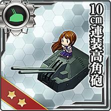 10cm連装高角砲