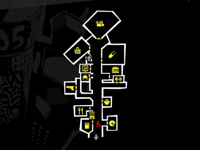 渋谷セントラル街map