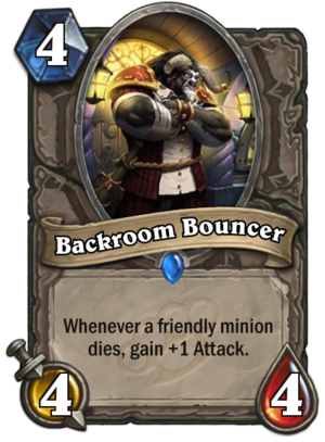 Backroom Bouncer