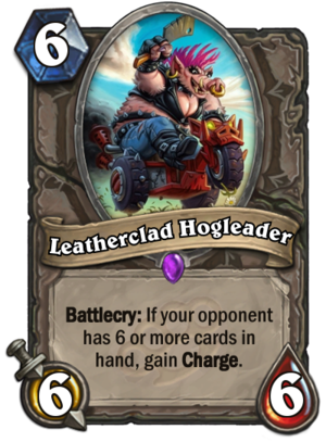 Leatherclad Hogleader