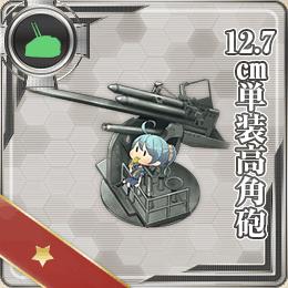 12.7cm単装高角砲