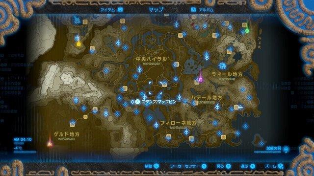 大妖精の泉マップ