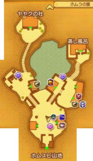 3DSホムラの里マップ