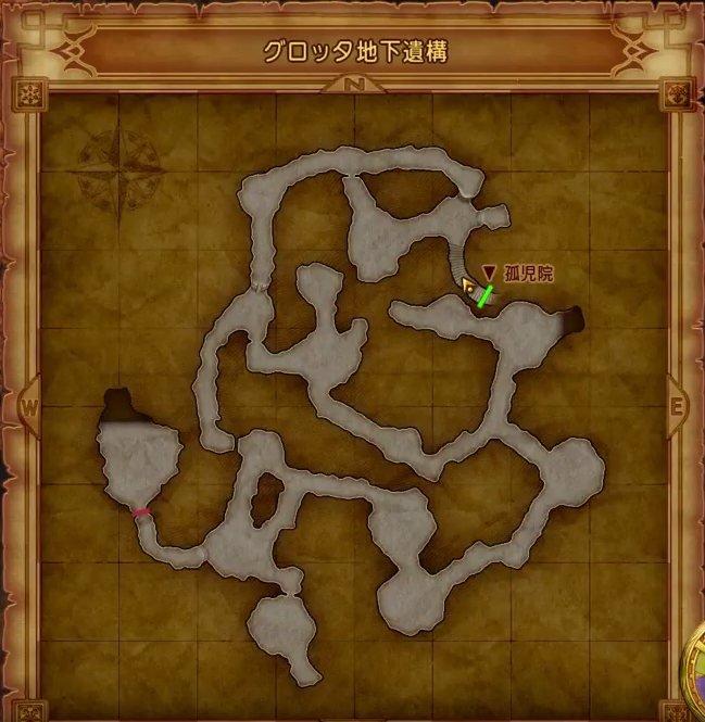 ドラクエ 4 攻略 マップ