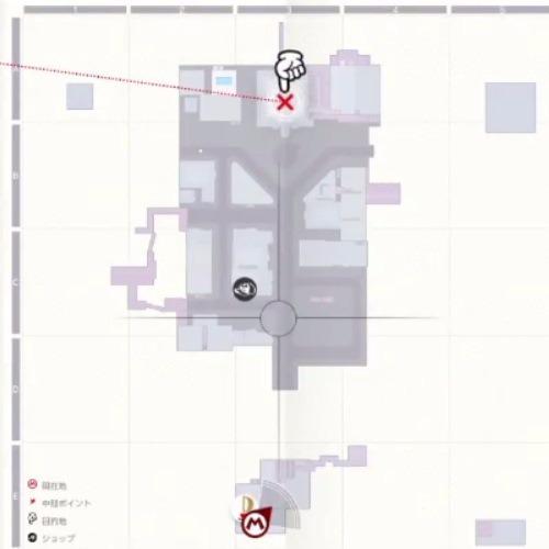 ニュードンクシティのマップ