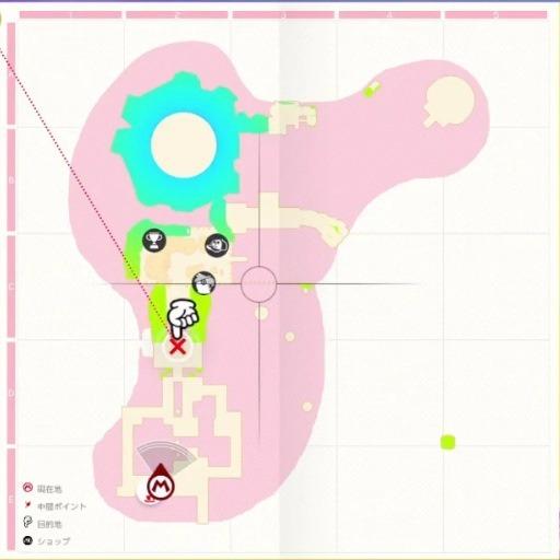 ボルボーノのマップ