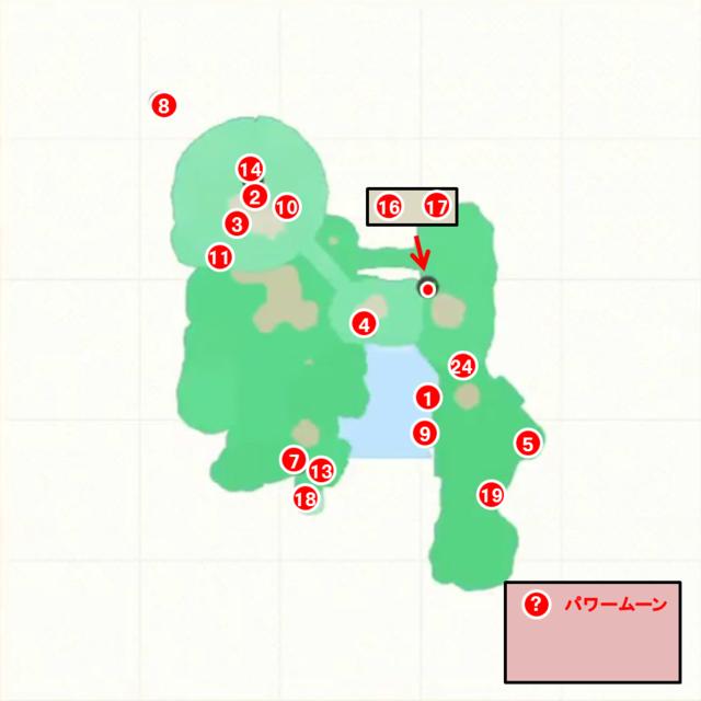 ダイナフォートップマップ