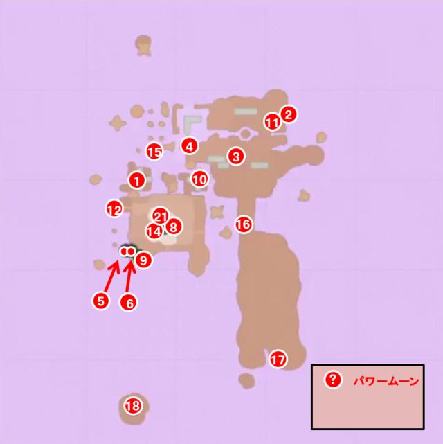 ロス島トップマップ