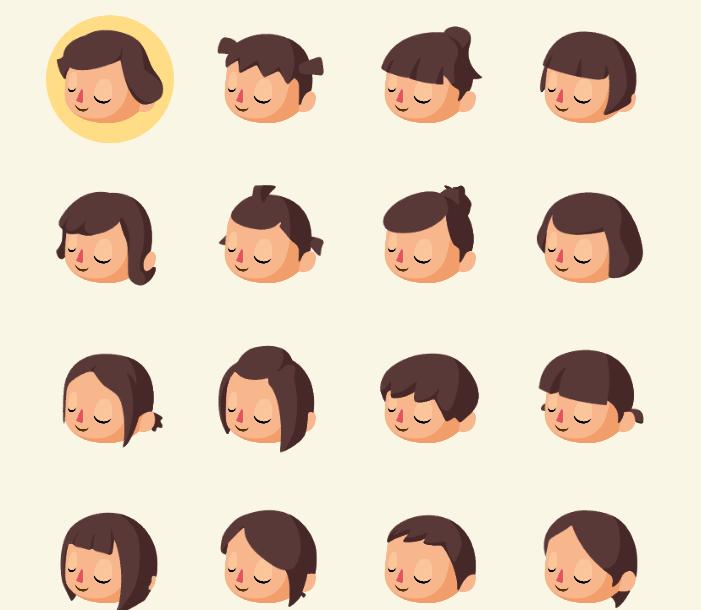 髪型 ポケ 森