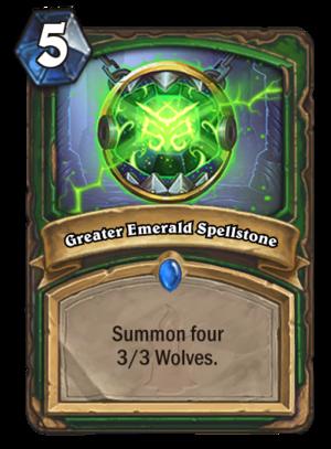 Greater Emerald Spellstone