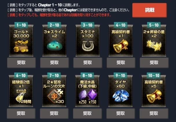 ストーリー完走チャレンジch1-10