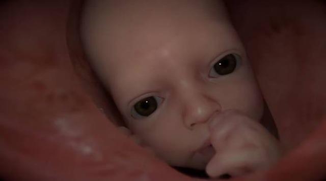 """本作のカギを握ることになりそうな赤ちゃん""""のようなもの"""""""