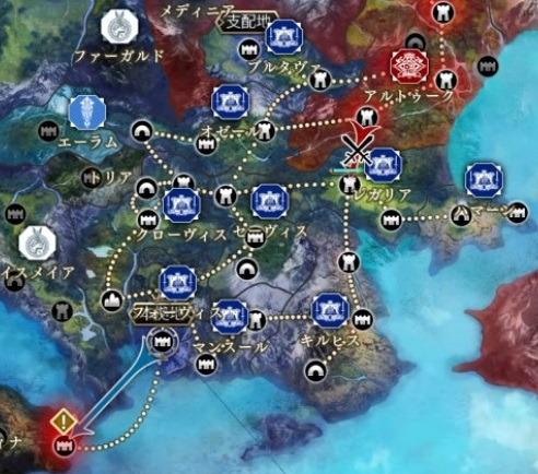 6章の戦況画面