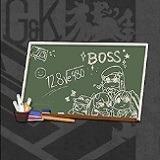 春の教室-黒板
