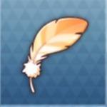 古代鳥の羽