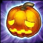 十字のかぼちゃ