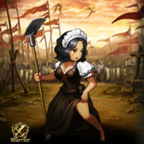 農民女兵士