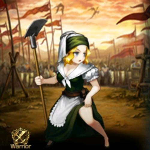 民兵女戦士