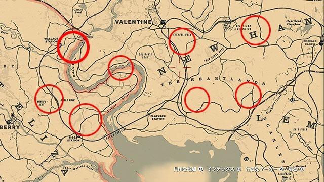 RDR2_ハイリスクな宝の地図