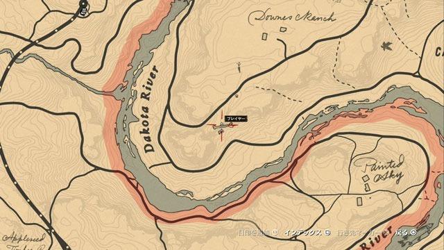 断崖の化石場所