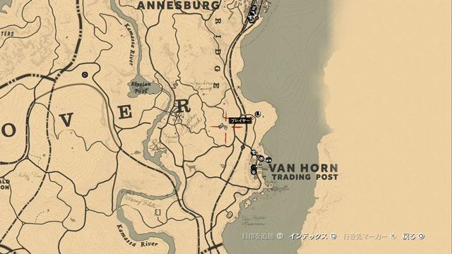 ヴァンホーンの化石