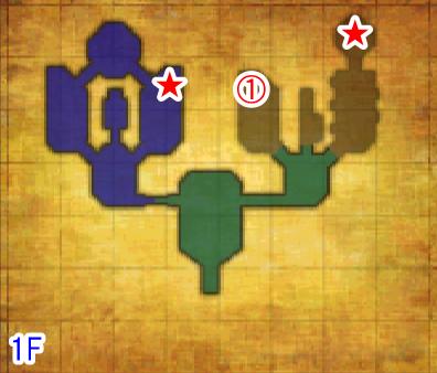 魂の神殿1F