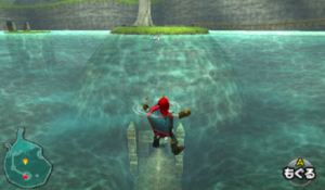 水の神殿入り口