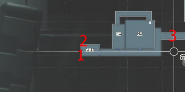 研究所・仮眠室