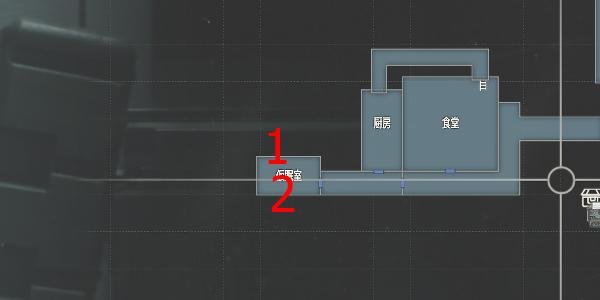 研究所・仮眠室1
