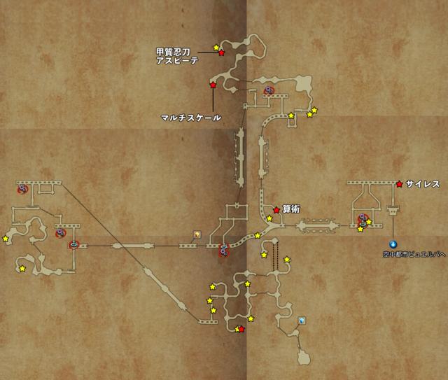 ルース魔石鉱マップ