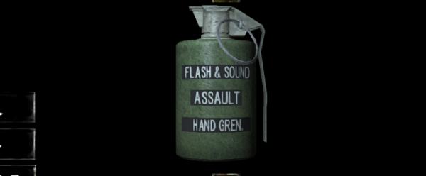 閃光手榴弾