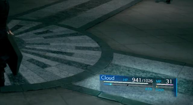 ATBゲージは画面上に2本表示されている