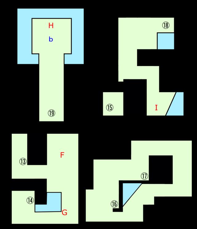 ボブルの塔地下フロア1-2