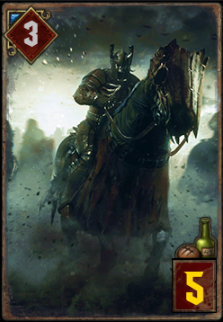 ワイルドハントの騎兵