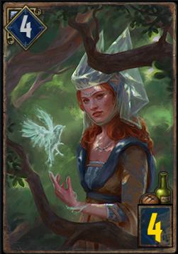 シントラ軍の女魔道士
