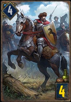 ケイドウェン軍の騎兵