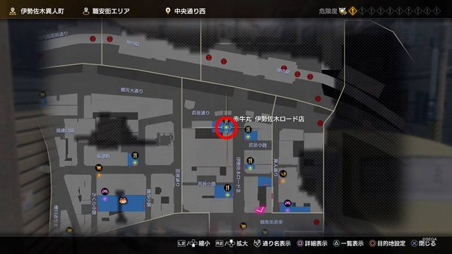 赤牛丸 伊勢佐木ロード店_場所