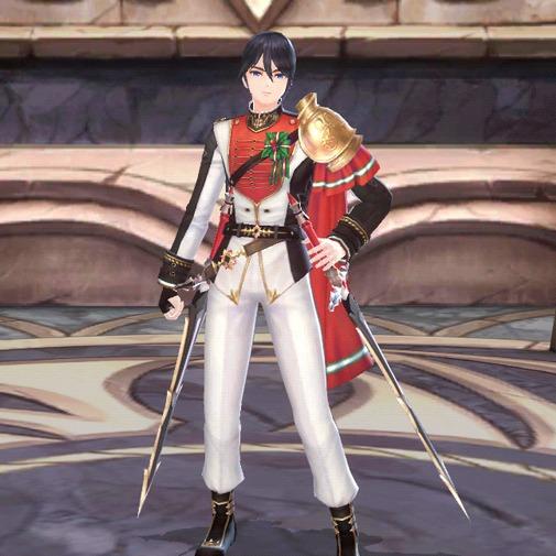 護衛騎士のクリスマスフルス