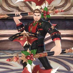 紳士のクリスマスガウ