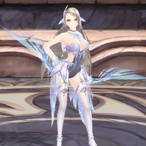 雪花咲く姫セレネ
