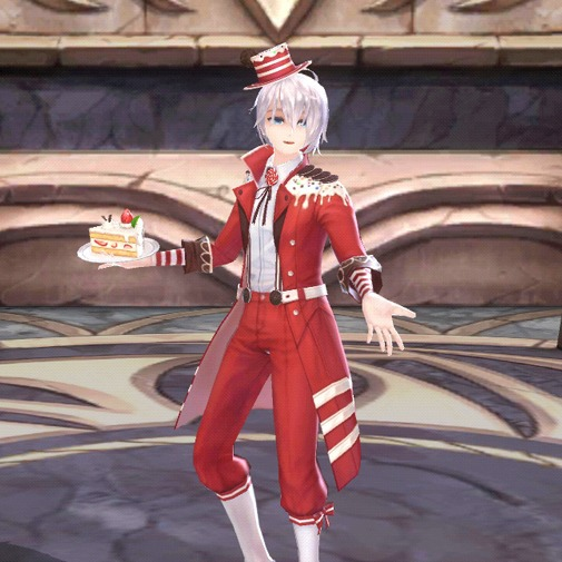 レッドベルベットクッキーケーキの夢パベル