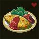 野菜オムレツ