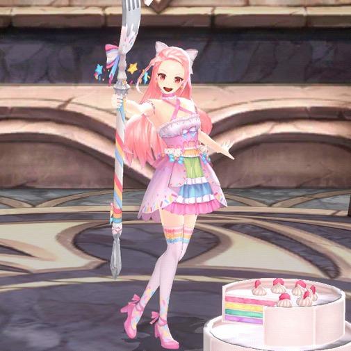 レインボーケーキの夢クレオ