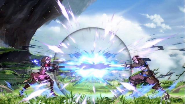 グランの飛び道具「レギンレイヴ」と相殺しており、モーションも似ています。