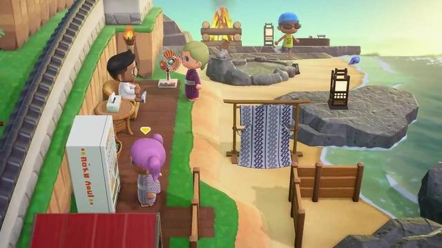 公式動画内では、岩場の上にも家具を設置しているのが確認できますが、島クリエイターやインフラ開発などで岩場を開拓できるかはまだ不明です。
