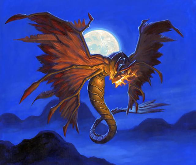 巣立ちのドラゴンホーク