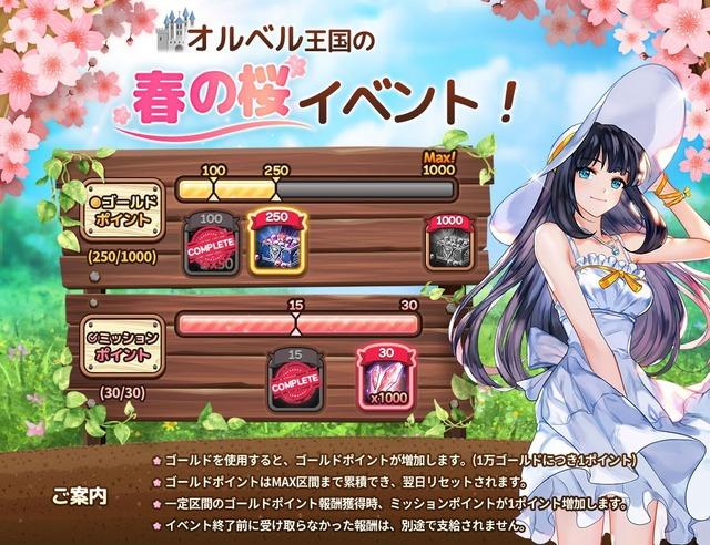 春の桜イベント!