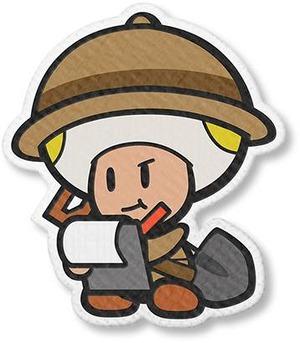 考古学者キノピオ