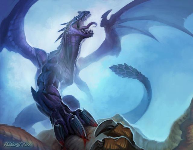 腹ペコのドラゴン